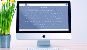 Webseite Advotech, Desktop-Ansicht