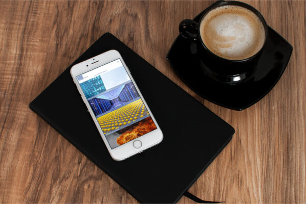 Webseite Advotech, Mobile-Ansicht